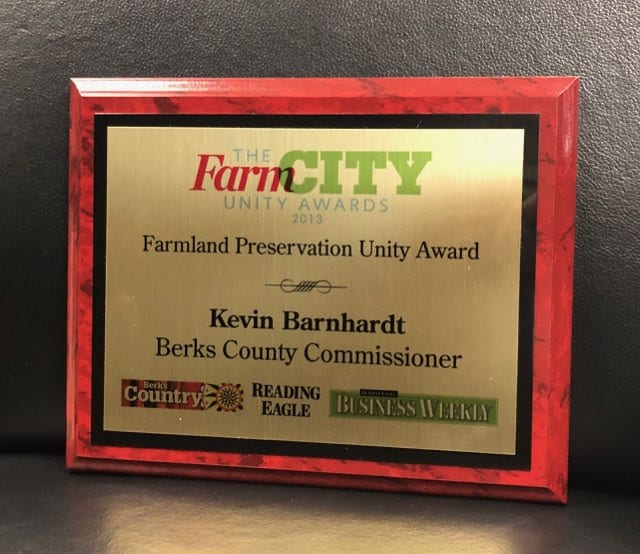 Farmland Preservation Unity Award