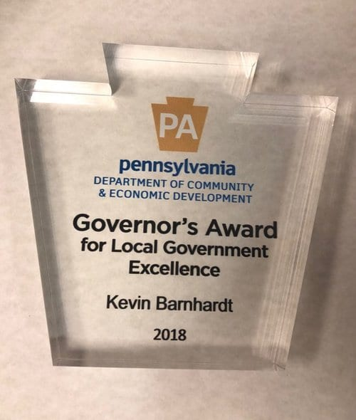 2018 Governor's Award for Local Government Excellence