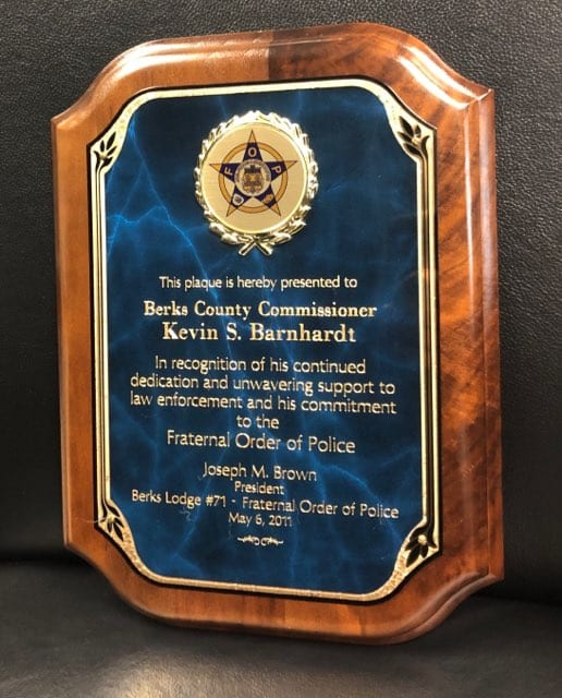Berks Lodge #71 - Fraternal Order of Police